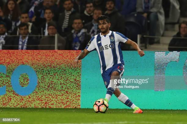 Porto's forward Jesus Corona from Mexico during the FC Porto v Sporting CP Primeira Liga match at Estadio do Dragao on February 04 2017 in Porto...