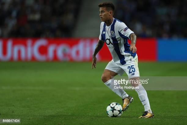 Porto's forward Otavio from Brazil during the match between FC Porto v Besiktas JK for the UEFA Champions League at Estadio do Dragao on September 13...