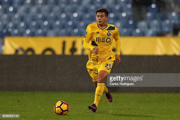 Porto's forward Otavio from Brazil during the Portuguese Primeira Liga match between CF Os Belenenses and FC Porto at Estadio do Restelo on November...