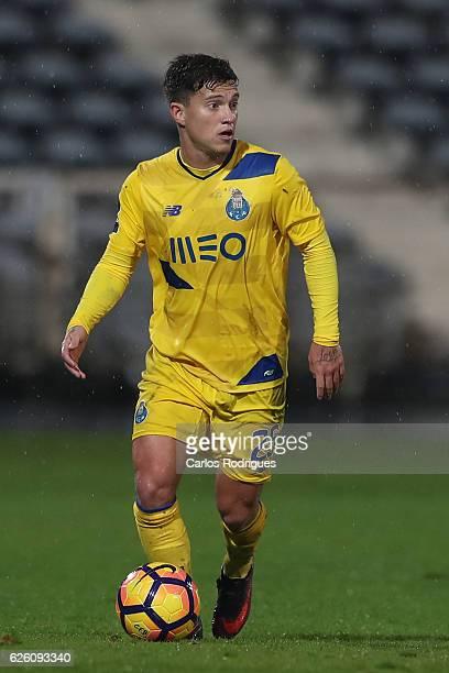 Porto's forward Otavio from Brazil during the Portuguese Primeira Liga between CF Os Belenenses v FC Porto Primeira Liga at Estadio do Restelo on...