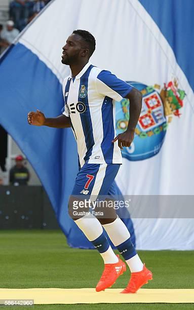 Porto's forward Silvestre Varela during FC Porto's team presentation before the start of the PreSeason Friendly match between FC Porto and Villarreal...