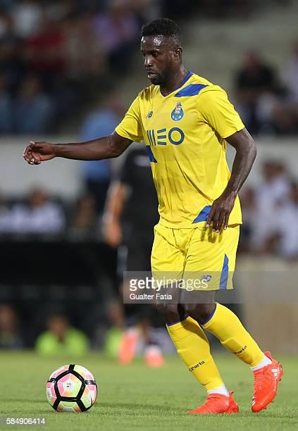 PortoÕs forward Silvestre Varela in action during the Guimaraes City Trophy match between Vitoria de Guimaraes and FC Porto at Estadio D Afonso...