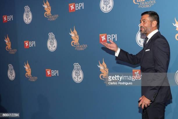 Porto's head coach Sergio Conceicao from Portugal attends FC Porto Gala Dragoes de Ouro 2016 2017 at Dragao Caixa on October 25 2017 in Porto Portugal