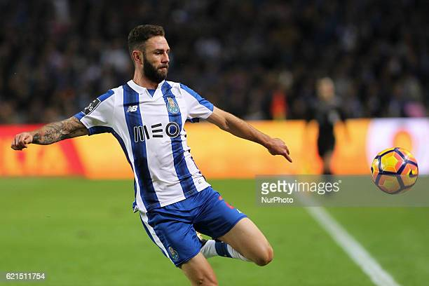 Porto's Mexican defender Miguel Layun during the Premier League 2016/17 match between FC Porto and SL Benfica at Dragao Stadium in Porto on November...