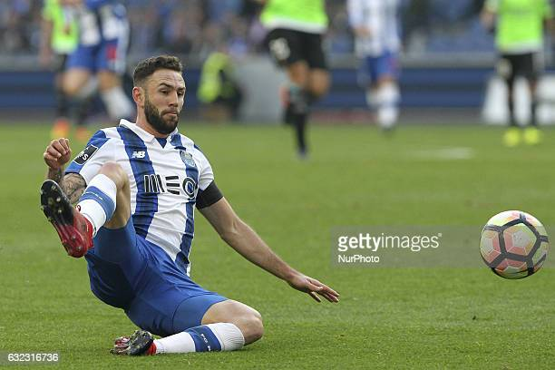 Porto's Mexican defender Miguel Layun during the Premier League 2016/17 match between FC Porto and Rio Ave at Dragao Stadium in Porto on January 21...