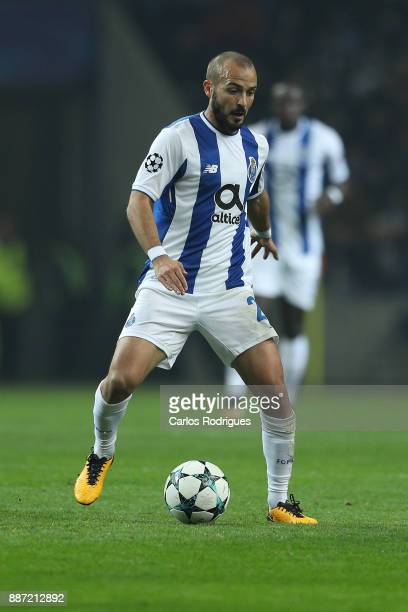 Porto's midfielder Andre Andre from Portugal during the match between FC Porto v AS Monaco or the UEFA Champions League match at Estadio do Dragao on...