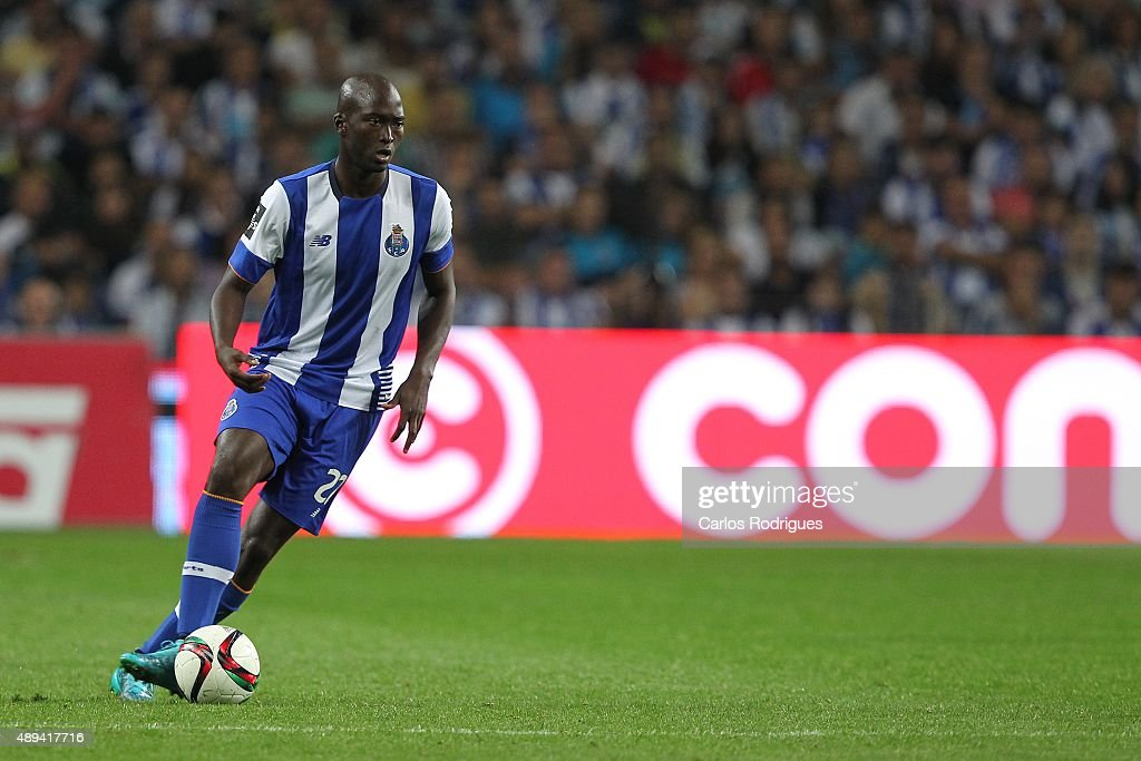 Porto's midfielder Danilo Pereira during the match between FC Porto and SL Benfica for the Portuguese Primeira Liga at Estadio do Dragao on September 20, 2015 in Porto, Portugal.
