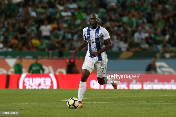 FC Portos midfielder Danilo Pereira from Portugal during Premier League 2017/18 match between Sporting CP and FC Porto at Alvalade Stadium in Lisbon...
