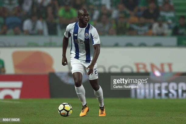 Porto's midfielder Danilo Pereira from Portugal during the Portuguese Primeira Liga round two match between Sporting CP and FC Porto at Estadio Jose...
