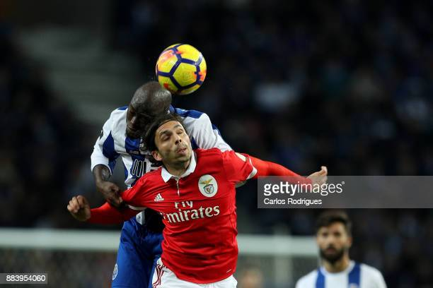 PortoÕs midfielder Danilo Pereira from Portugal vies with Benfica's midfielder Filip Krovinovic from Croatia for the ball possession during the FC...