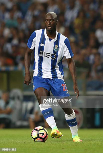 PortoÕs midfielder Danilo Pereira in action during the PreSeason Friendly match between FC Porto and Villarreal FC at Estadio do Dragao on August 6...
