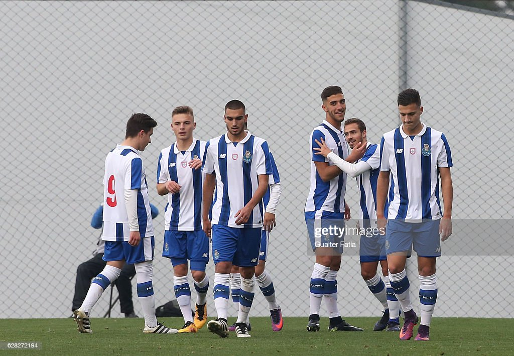 FC Porto v Leicester City FC - UEFA Youth Champions League : News Photo