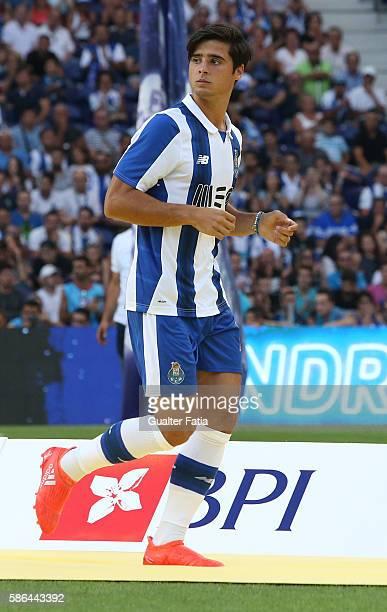 Porto's midfielder Joao Carlos Teixeira during FC Porto's team presentation before the start of the PreSeason Friendly match between FC Porto and...