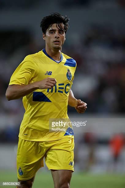 FC Portos midfielder Joao Carlos Teixeira during the match between Vitoria Guimaraes v Porto match for the Guimaraes City Trophy at Estadio da Dom...