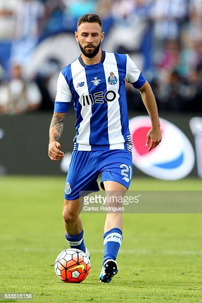 Porto's midfielder Miguel Layun during the match between FC Porto and SC Braga for the Portuguese Cup Final at Estadio do Jamor on May 22 2016 in...