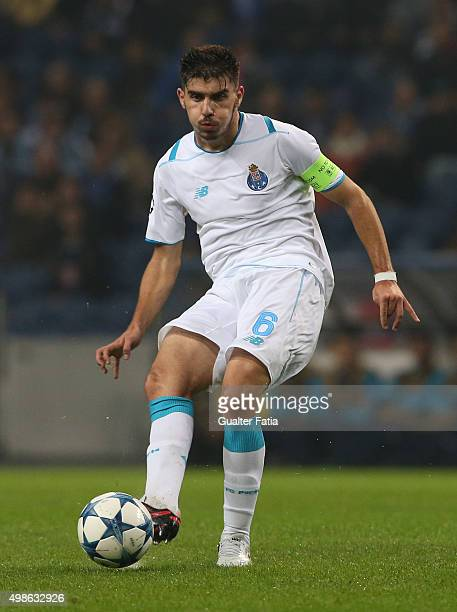 PortoÕs midfielder Ruben Neves in action during the UEFA Champions League match between FC Porto and FC Dynamo Kyiv at Estadio do Dragao on November...