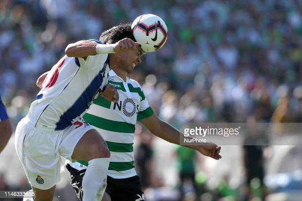 Porto's Portuguese defender Pepe in action during the Portugal Cup Final football match Sporting CP vs FC Porto at Jamor stadium on May 25 in Oeiras...