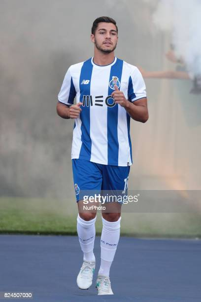 Porto's Portuguese defender Rafa during the preseason friendly between FC Porto and Deportivo da Corunha at Dragao Stadium on July 30 2017 in Porto...