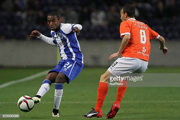 Porto's Portuguese forward Ricardo Pereira during the Premier League 2014/15 match between FC Porto and FC Arouca at Drag��o Stadium in Porto on...