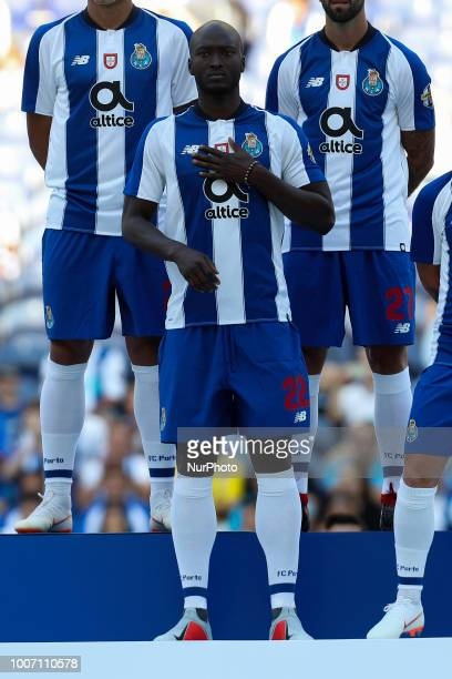 Porto's Portuguese midfielder Danilo Pereira during the Official Presentation of the FC Porto Team 2018/19 match between FC Porto and Newcastle at...