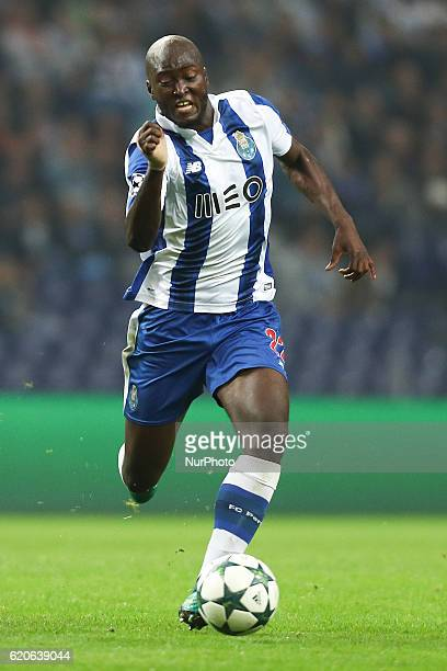 Porto's Portuguese midfielder Danilo Pereira in action during the UEFA Champions League Group G match between FC Porto and Club Brugge at Dragao...