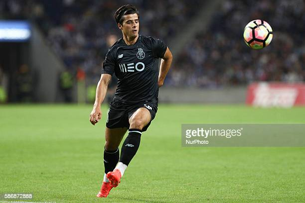Porto's Portuguese midfielder João Carlos Teixeira in action during the Official Presentation of the FC Porto Team 2016/17 match between FC Porto and...