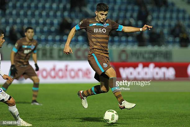 Porto's Portuguese midfielder Ruben Neves in action during the CTT Cup 2015/16 match between CD Feirense and FC Porto at Marcolino de Castro Stadium...