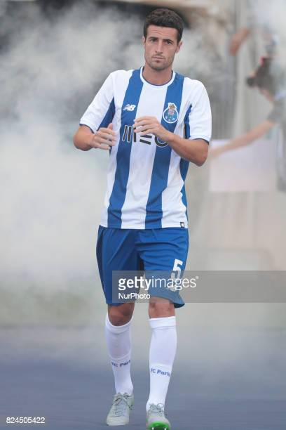 Porto's Spanish defender Ivan Marcano during the preseason friendly between FC Porto and Deportivo da Corunha at Dragao Stadium on July 30 2017 in...