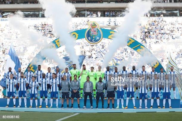 Porto´s Team during the preseason friendly between FC Porto and Deportivo da Corunha at Dragao Stadium on July 30 2017 in Porto Portugal