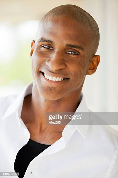 Portrait: African American Man Outdoors
