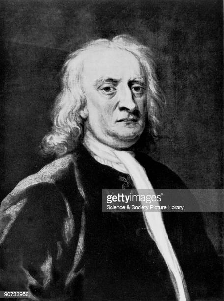 Portrait after John Vanderbank's painting Isaac Newton graduated from Trinity College Cambridge in 1665 becoming Lucasian Professor of Mathematics...