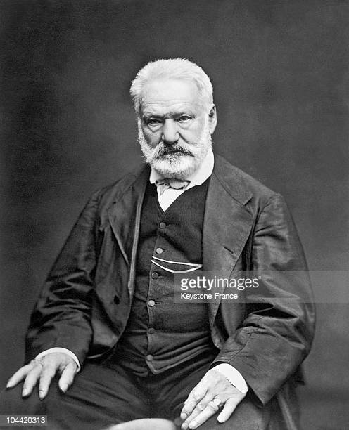 Portrait Around 1880 Of The French Poet And Writer Victor Hugo Photography By Etienne Carjat