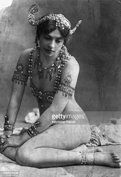 Portrait Around 1900 Of Mata Hari