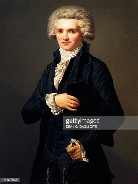 Portrait as a youth of MaximilienFrancoisMarieIsidore de Robespierre French lawyer politician and revolutionary Versailles Château De Versailles