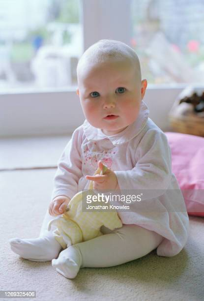 portrait baby girl - stockings photos stock pictures, royalty-free photos & images