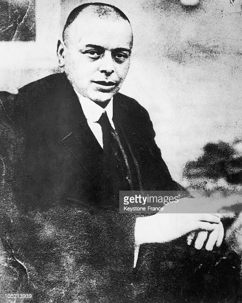 Portrait Between 1919 And 1937 Of Bela Kun Founder Of The Hungarian Communist Party Principal Leader Of The Republic Of The Councils Which Was...