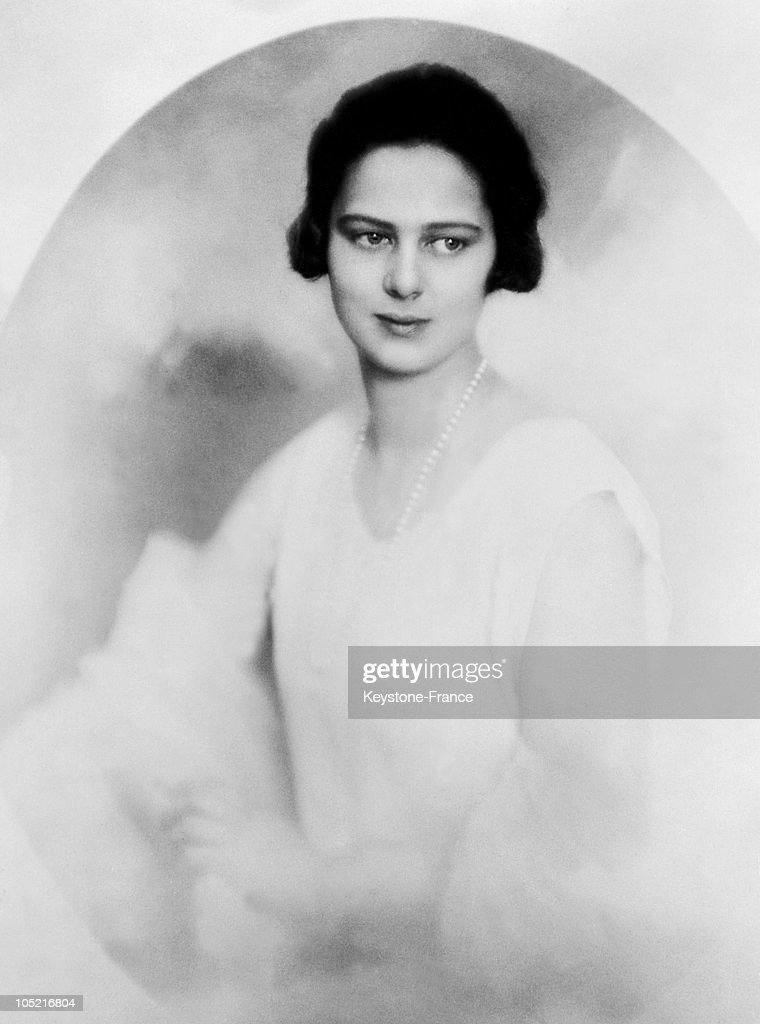 Princess Ileana Of Romania, Archduchess Of Austria-Tuscany Around 1931-1935 : News Photo