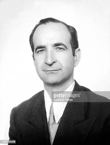 Portrait Between Approximately 1940 And 1950 Of Jose Figueres Ferrer, The President Of The Republic Of Costa Rica From 1948-1949, Then From 1953-1958...