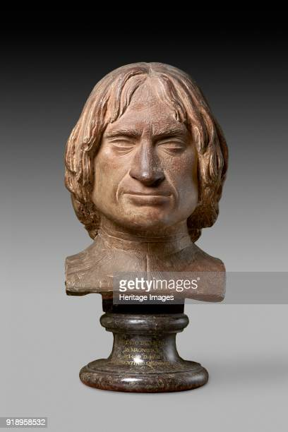 Portrait Bust of Lorenzo de' Medici Late 15th centuryTterracotta formerly painted Florence about 15001520 Perhaps the workshop of Antonio Benintendi...