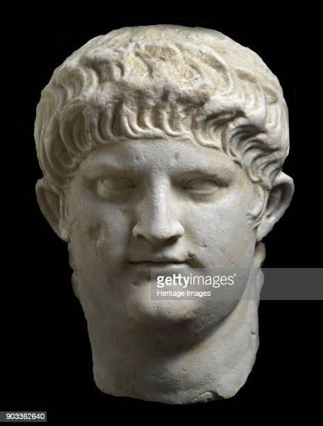 Portrait bust of Nero Found in the Collection of Staatliche Antikensammlungen und Glyptothek München