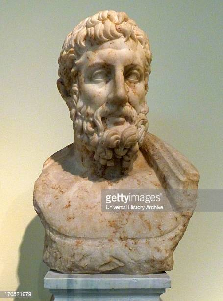 Portrait bust of the philosopher Polemon Pentalic marble Found in the Olympieion Athens Possibly the portrait of the philosopher Antonius Polemon...