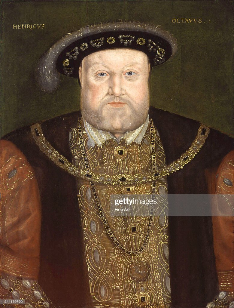 Portrait of King Henry VIII : News Photo