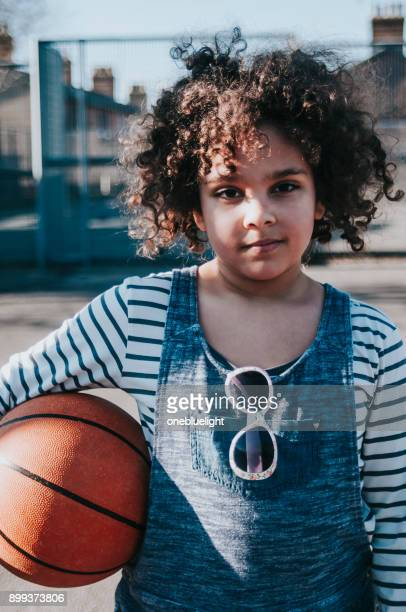 portrait child with basketball - onebluelight stock pictures, royalty-free photos & images