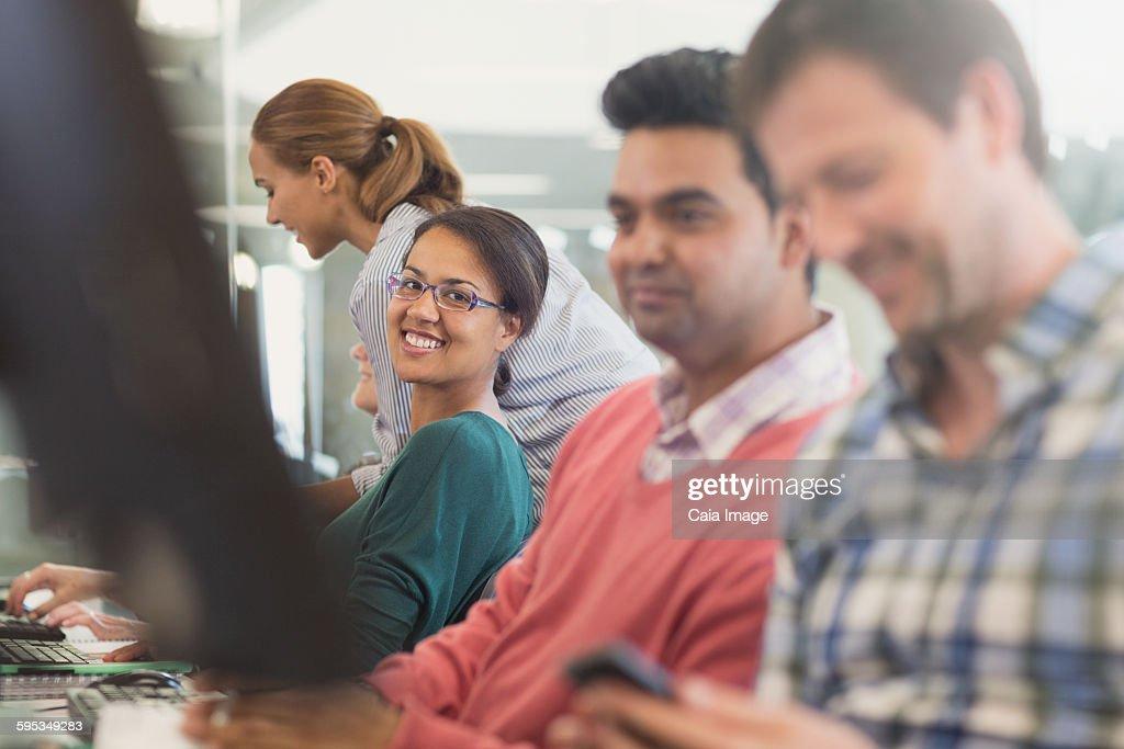 Adult computer education
