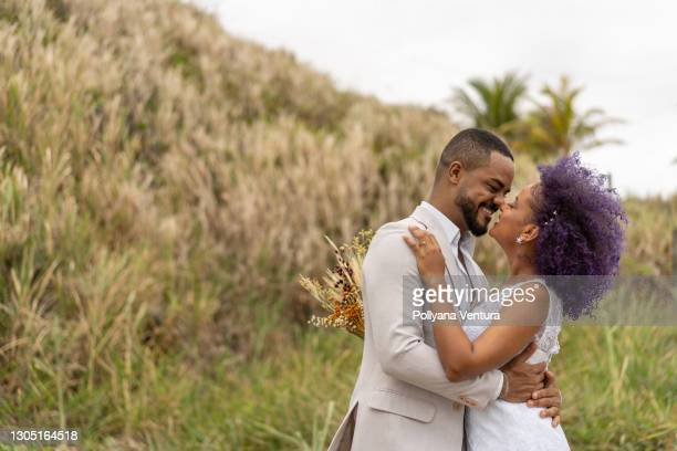 portrait couple in honeymoon - fiancé stock pictures, royalty-free photos & images