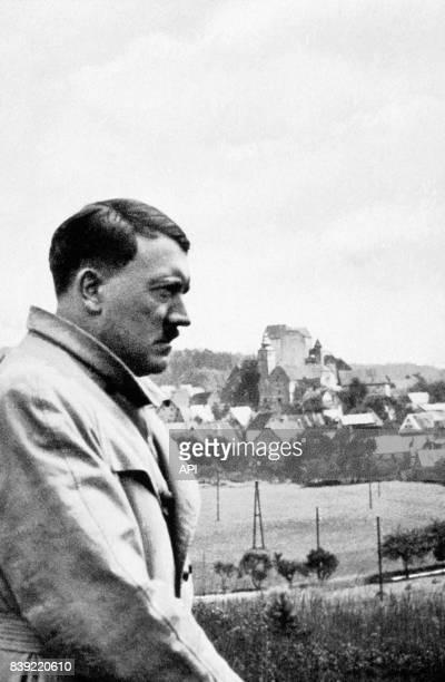 Portrait d'Adolf Hitler à Hilpoltstein en Suisse