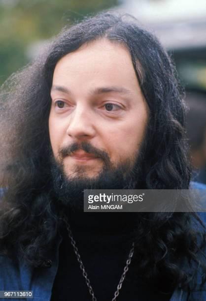 Portrait d'Alan Stivell le 17 novembre 1975 en France