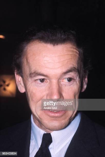 Portrait d'Albin Chalandon dans les années 70 à Paris France Circa 1970