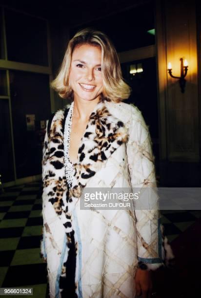 Portrait d'Alexandra Bronkers au Gala de l'Enfance maltraitée le 11 octobre 1999 à Paris France