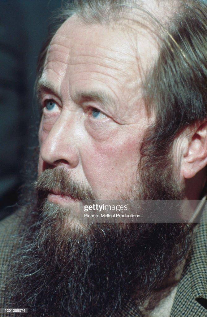 Alexandre Soljenitsyne : Photo d'actualité